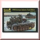 Caesar Miniatures H079: WWII German Infantry Tank Riders Winter Set 2