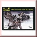 Caesar Miniatures H097: WWII German Winter Unit with Pak 36 / Servants