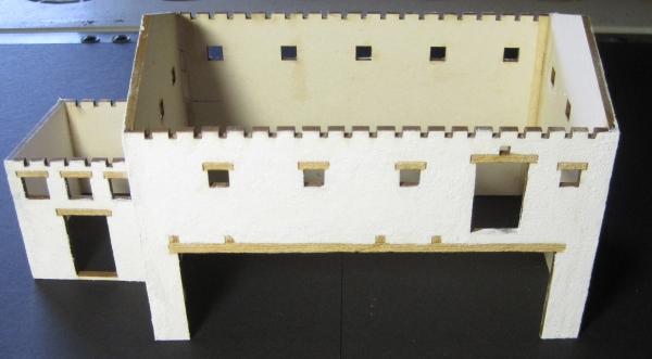 Nebengebäude für eine Villa Rustica Step_3