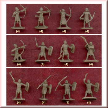 1:72 H047 Caesar Miniatures Ancient Egyptian Warriors