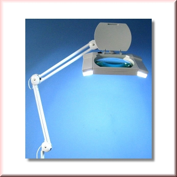 lupenlampe mit extra breitem sichtfeld. Black Bedroom Furniture Sets. Home Design Ideas