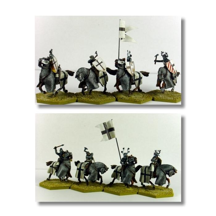 Valdemar-Miniatures: VM047 Teutonic Heavy Cavalry 1:72