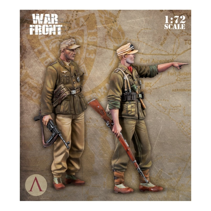 Scale75: SW72-002 DAK SOLDIERS 1/72