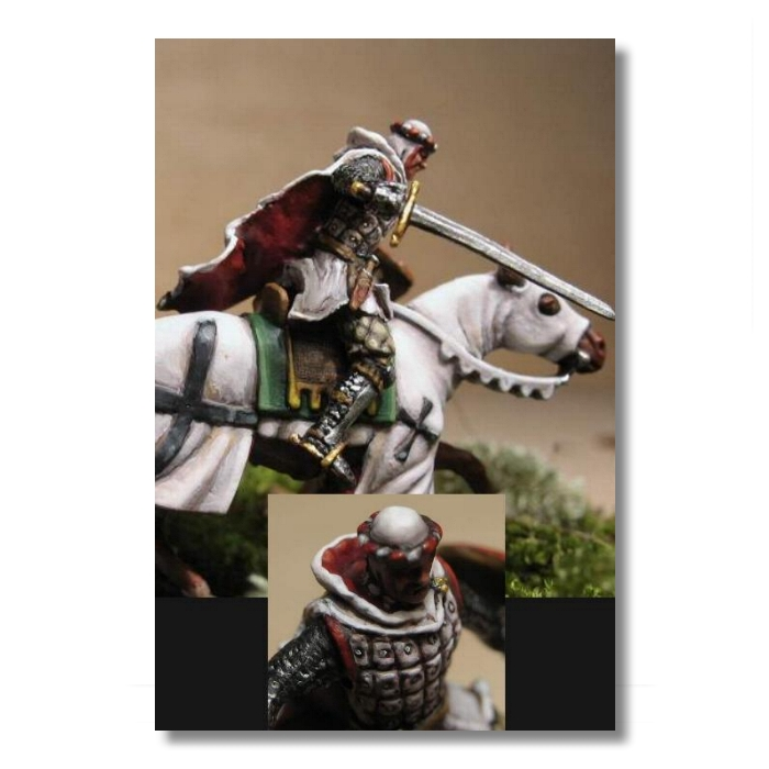 """Valdemar-Miniatures: VA005 """"Mounted Teutonic Knight"""" Fits"""
