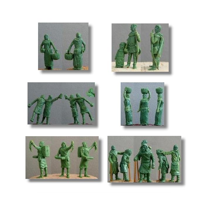 1 72 Scale Civilian Figures