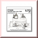 CMK Kits: 129-F72226 German tank crew 1944 (5 half body figures) 1/72