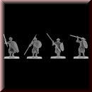 V & V Miniatures: SKU - R28.42 Arab infantry 28mm