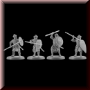 V & V Miniatures: SKU - R28.43 Arab infantry 28mm