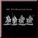 V & V Miniatures: SKU - R28.29 Heavy Crusader Cavalry