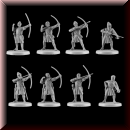 V & V Miniatures: SKU - R28.41 Norman Archers