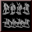 V & V Miniatures: SKU - R28.40 Norman riders 2