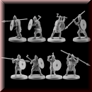 V & V Miniatures: SKU - R28.33 Pagan Rus Set III