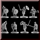 V & V Miniatures: SKU - R28.34 Pagan Rus Set IV