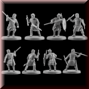 V & V Miniatures: SKU - R28.35 Pagan Rus Set V