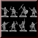V & V Miniatures: SKU - R28.37 Pagan Rus Set VII