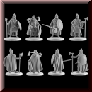 V & V Miniatures: SKU - R28.45 Varangian Palace Guard