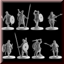 V & V Miniatures: SKU - R28.46 Harald Hardrada King of Norway
