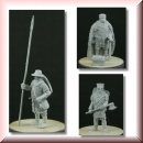 "Valdemar-Miniatures: VM092 ""Danish/Swedish Medieval Lord w. rotine"" 1:72"