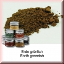 Green-Line: Weathering-Pigment Earth Greenish