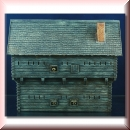 Green-Line: GL-GEB-US-001 Log Timber Blockhouse 1:72