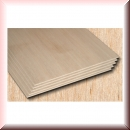 Balsa Wood in the Thickness 1,0mm, 1,5mm, 2,0mm, 2,5mm, 3,0mm, 4,0mm, 5,0mm und 6,0mm