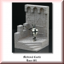 Green-Line: Base-001 Medieval Castle 1:72, 40x40mm