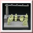 Green-Line: Base-006 Roman Terrasse 1:72, 63x50mm