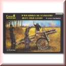 Caesar Miniatures 7202: WWII German Infantry Gun SIG33 with Crew in 1:72