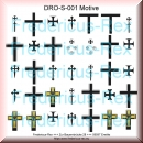 Green-Line: DRO-S-001-DeMo Deutscher Ritterorden Schildermotive I 1:72 - Decal