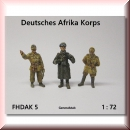 Munich-Kits: FHDAK 05 Deutsche Afrika Korps General Stab /1:72