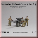 Munich-Kits: FHM 08 German submarine crew for long-range combat boat U 154 in the Caribbean (Set 2)