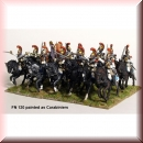 Perry Miniatures:  FN120 Plastic French Napoleonic Heavy Cavalry box set (Cuirassiers/Carabiniers, 14 figures)