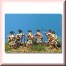 Germania Figuren: Kaiserliche Musketiere - ladend 1:72