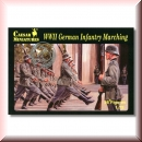 Caesar Miniatures H081: WWII German Infantry Marching