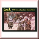 Caesar Miniatures H083: WWII German Infantry in Smocks - Winter