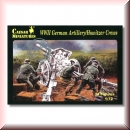Caesar Miniatures H084: WWII German Artillery/Howitzer Crews