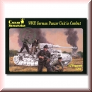 Caesar Miniatures H085: WWII German Panzer Unit in Combat