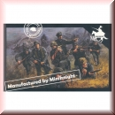 Caesar Miniatures HB06: WWII German Army Combat Team One