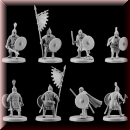V & V Miniatures: SKU - R28.31 Pagan Rus Set I