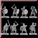 V & V Miniatures: SKU - R28.32 Pagan Rus Set II