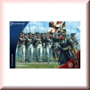 Perry Miniatures: RN 20 Russian Napoleonic Infantry 1809-1814 ( 40 figures)
