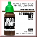 Scale75: SW-02 ROTBRAUN RED, Acrylfarbe 17ml