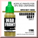 Scale75: SW-07 GRAUGRUN GRAY, Acrylfarbe 17ml