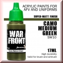 Scale75: SW-10 SS CAMO MEDIUM GREEN, Acrylfarbe 17ml