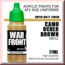 Scale75: SW-12 SS CAMO OCHER BROWN, Acrylfarbe 17ml