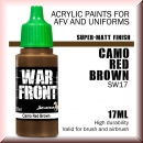 Scale75: SW-17 SS CAMO RED BROWN, Acrylfarbe 17ml