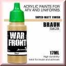 Scale75: SW-28 BRAUN, Acrylfarbe 17ml
