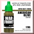 Scale75: SW-48 AMERICAN OLIVE, Acrylfarbe 17ml
