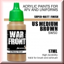 Scale75: SW-50 US MEDIUM BROWN, Acrylfarbe 17ml