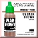 Scale75: SW-51 US DARK BROWN, Acrylfarbe 17ml